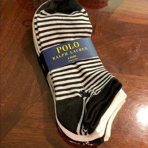 Polo Ralph Lauren 6 pair women socks